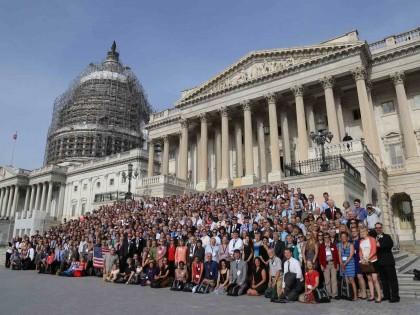 Lobbying on climate change as spiritual practice