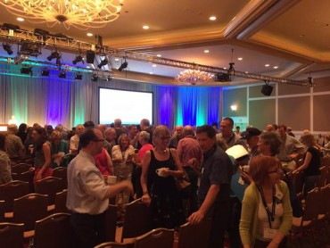 First session at #CCL2015 was with group leaders.