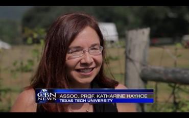 Katharine Hayhoe on CBN.