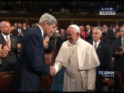 Pope Francis' address to Congress opens space for dialogue on climate change