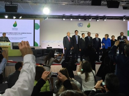 CCL at COP21, Day 2: More on the Carbon Pricing Leadership Coalition