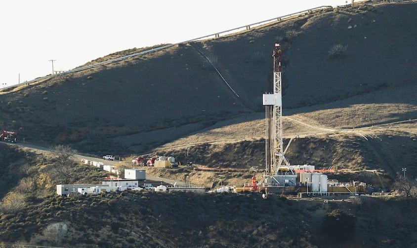 Aliso Canyon rig