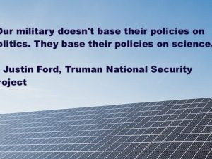 Operation Free: Military Experts Call for Clean Energy